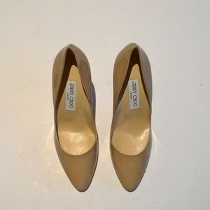f9818f470f Jimmy Choo Shoes - **NEW**Jimmy Choo Mei Nude Patent Heels